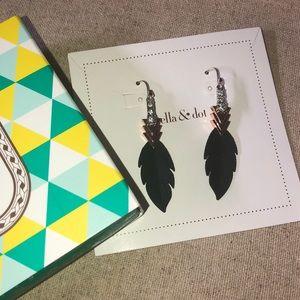 Stella & Dot Raven Earrings